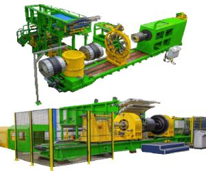 Tire Building Machine (TBM) for AGRI Radial Tire